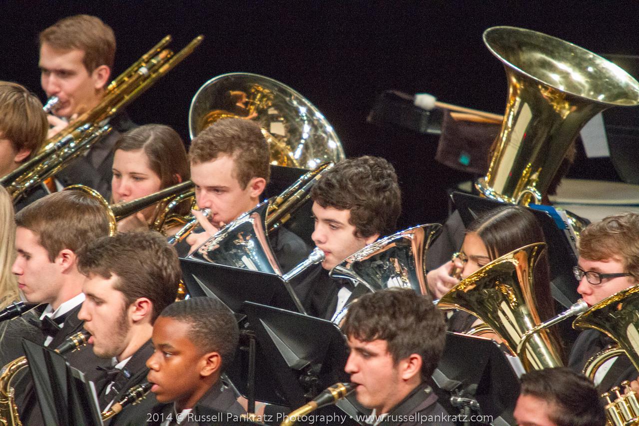 2014-01-18 TMEA-Region18 Symphonic Band-12