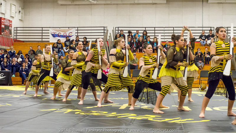 20140301 Bowie Indoor Festival - A Guard-0179