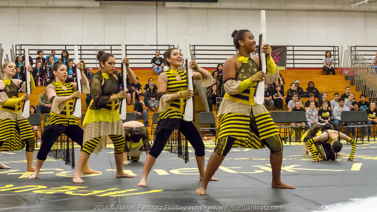20140301 Bowie Indoor Festival - A Guard-0176