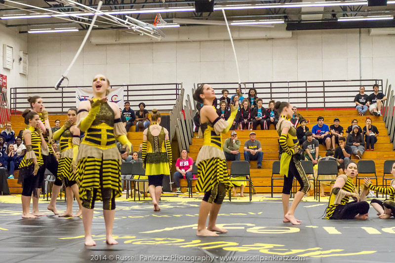 20140301 Bowie Indoor Festival - A Guard-0112