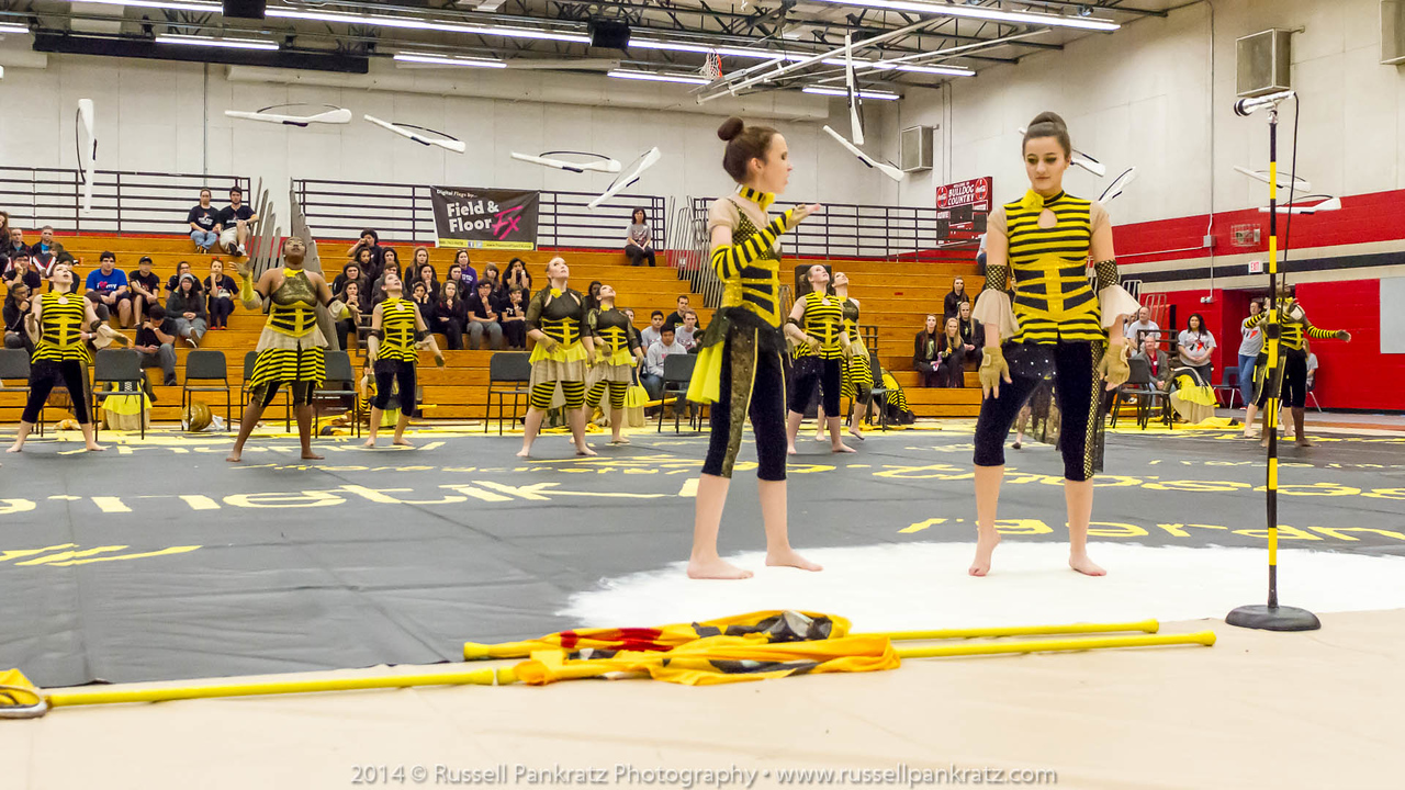 20140301 Bowie Indoor Festival - A Guard-0216