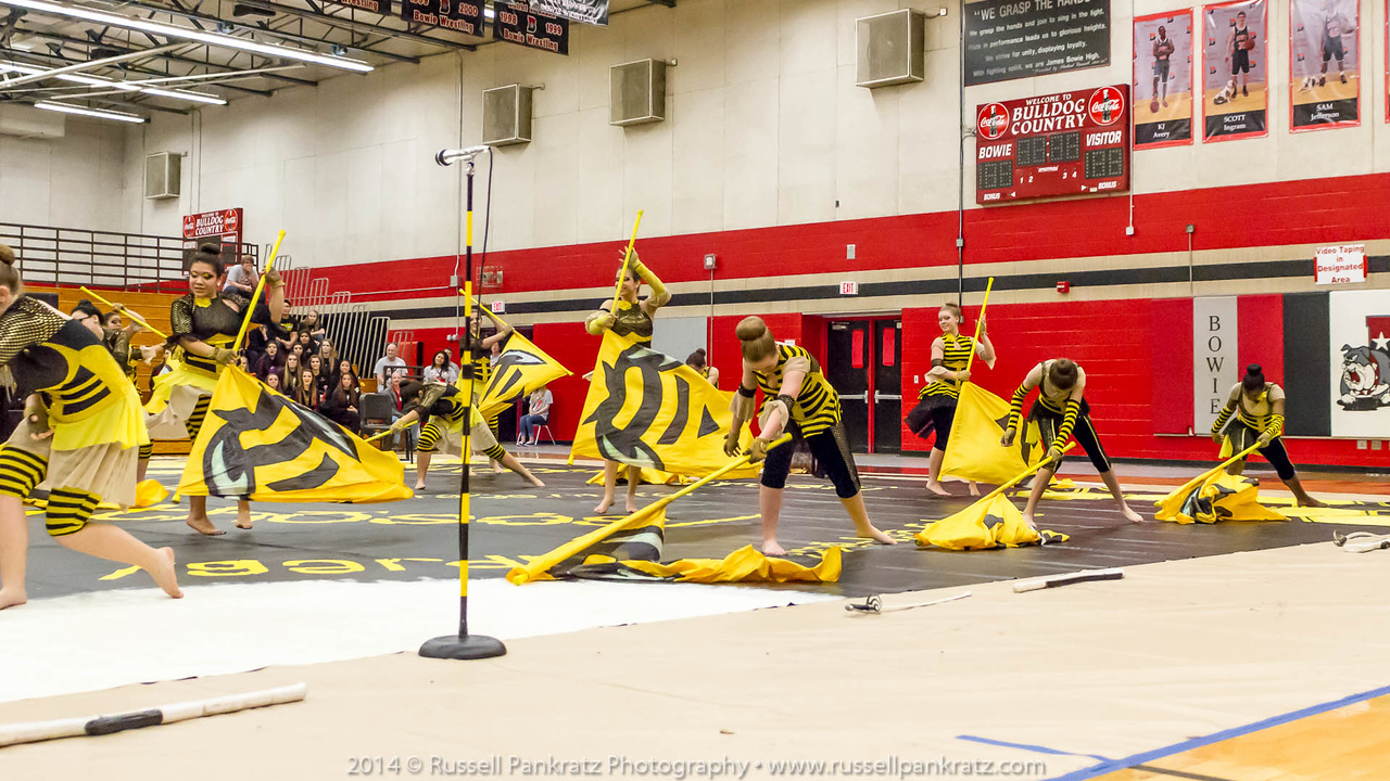 20140301 Bowie Indoor Festival - A Guard-0265