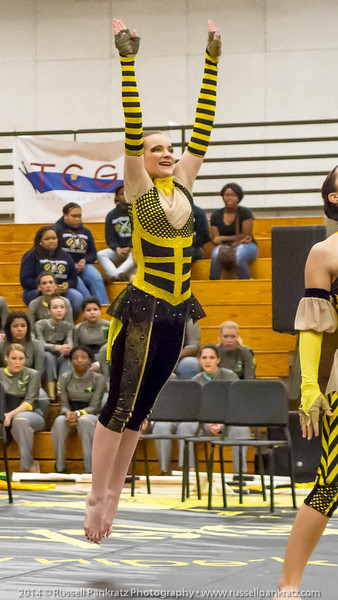 20140301 Bowie Indoor Festival - A Guard-0139-2