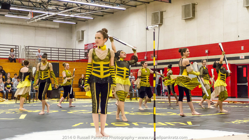 20140301 Bowie Indoor Festival - A Guard-0203
