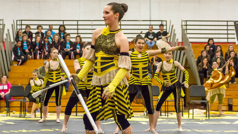 20140301 Bowie Indoor Festival - A Guard-0117