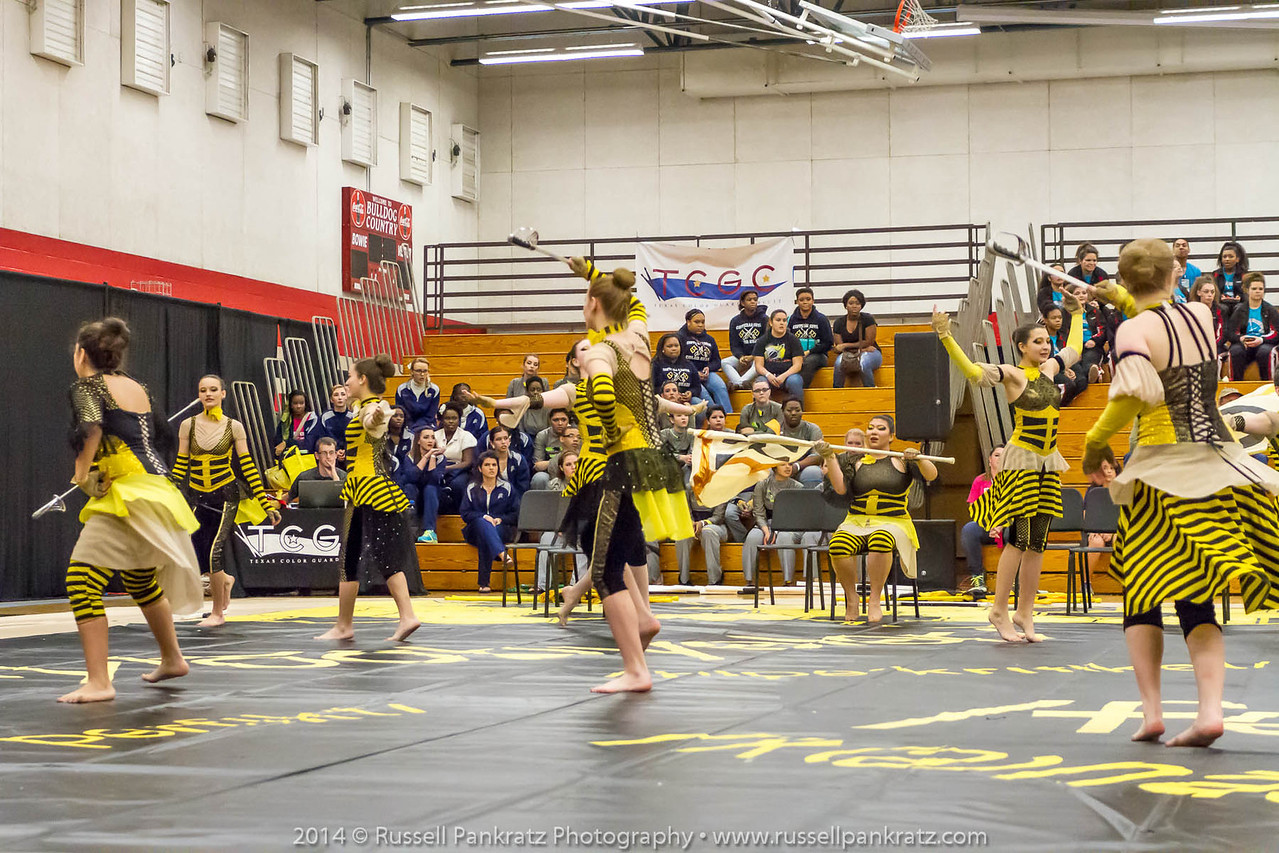20140301 Bowie Indoor Festival - A Guard-0096
