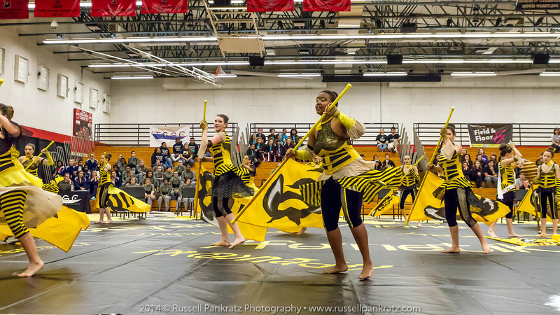 20140301 Bowie Indoor Festival - A Guard-0291