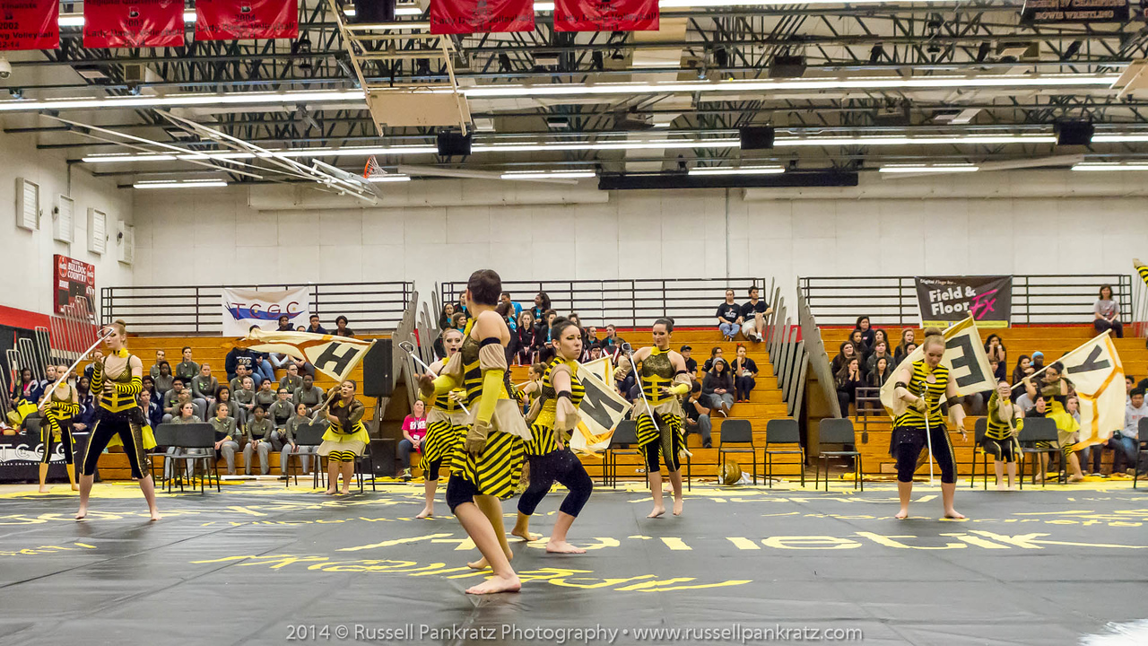 20140301 Bowie Indoor Festival - A Guard-0090