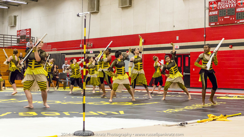 20140301 Bowie Indoor Festival - A Guard-0122