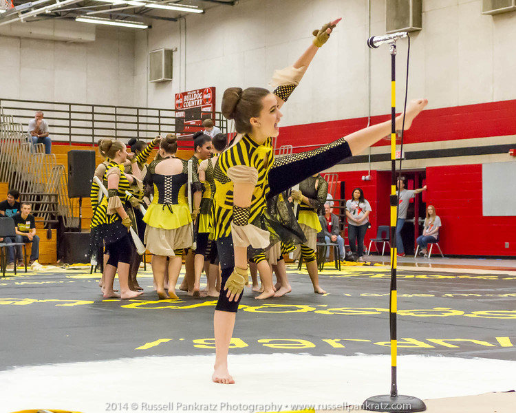 20140301 Bowie Indoor Festival - A Guard-0188