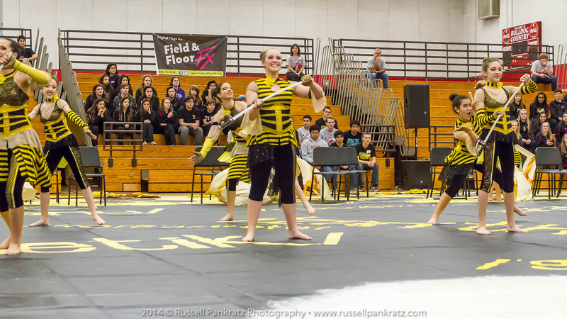 20140301 Bowie Indoor Festival - A Guard-0098