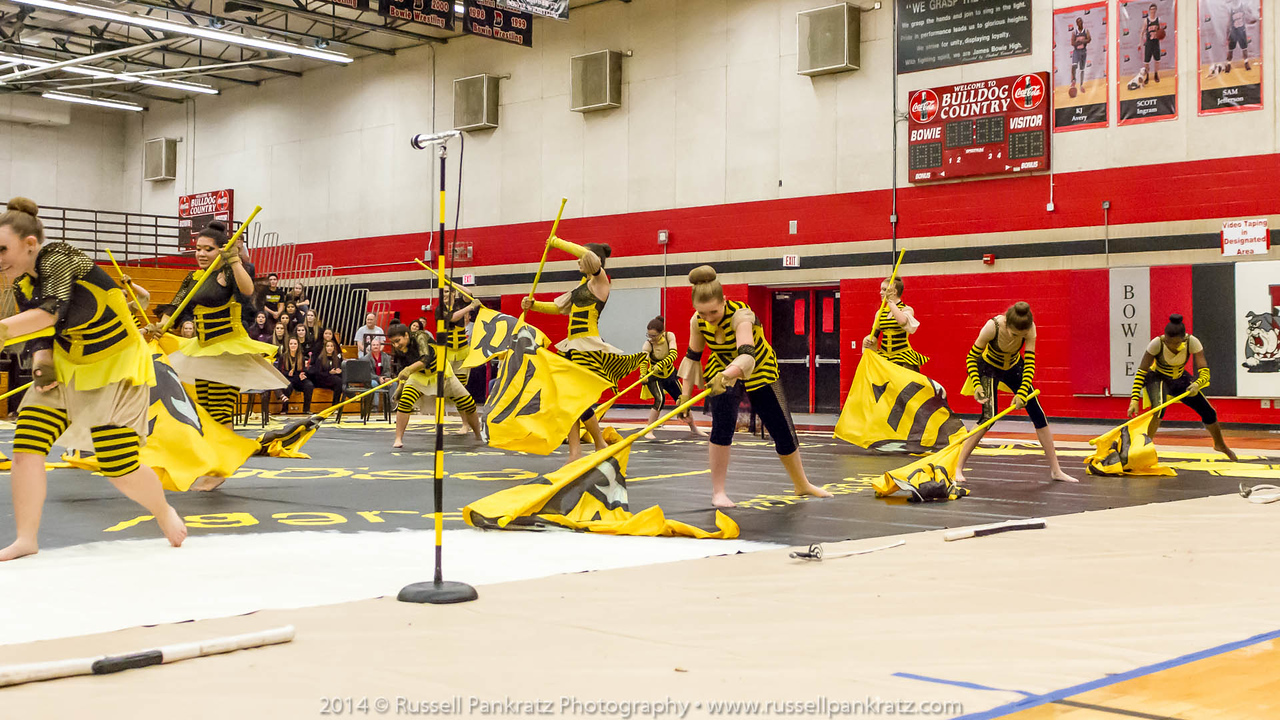 20140301 Bowie Indoor Festival - A Guard-0266