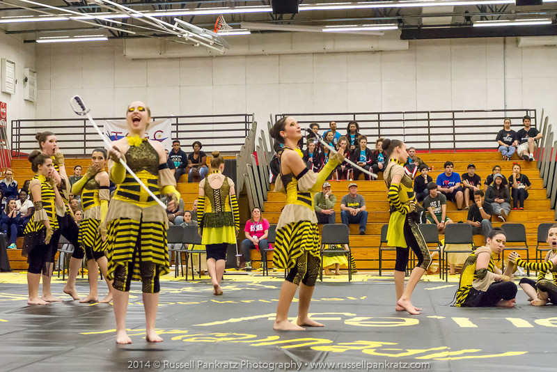 20140301 Bowie Indoor Festival - A Guard-0113