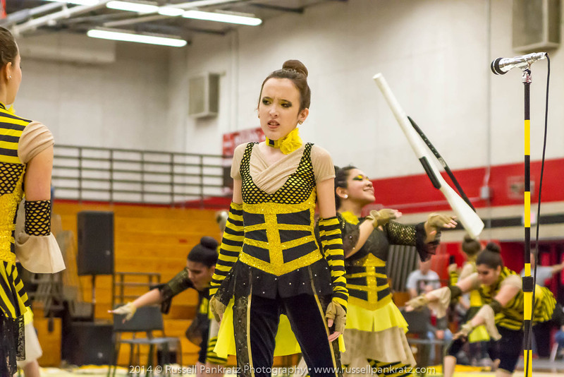 20140301 Bowie Indoor Festival - A Guard-0205
