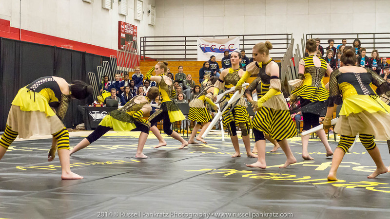 20140301 Bowie Indoor Festival - A Guard-0183