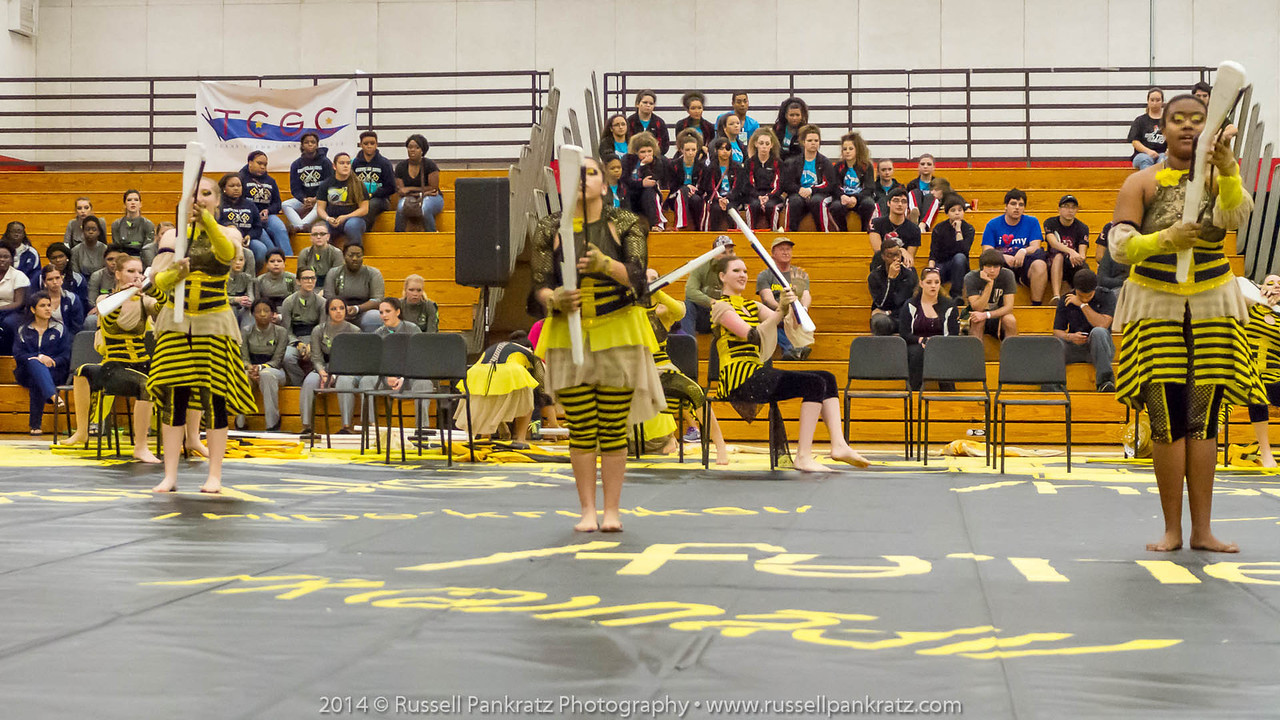 20140301 Bowie Indoor Festival - A Guard-0221