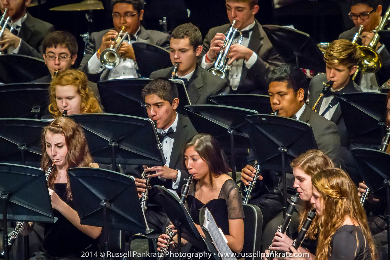 2014-04-10 UIL Concert & Site-Reading - Wind Ensemble II-29