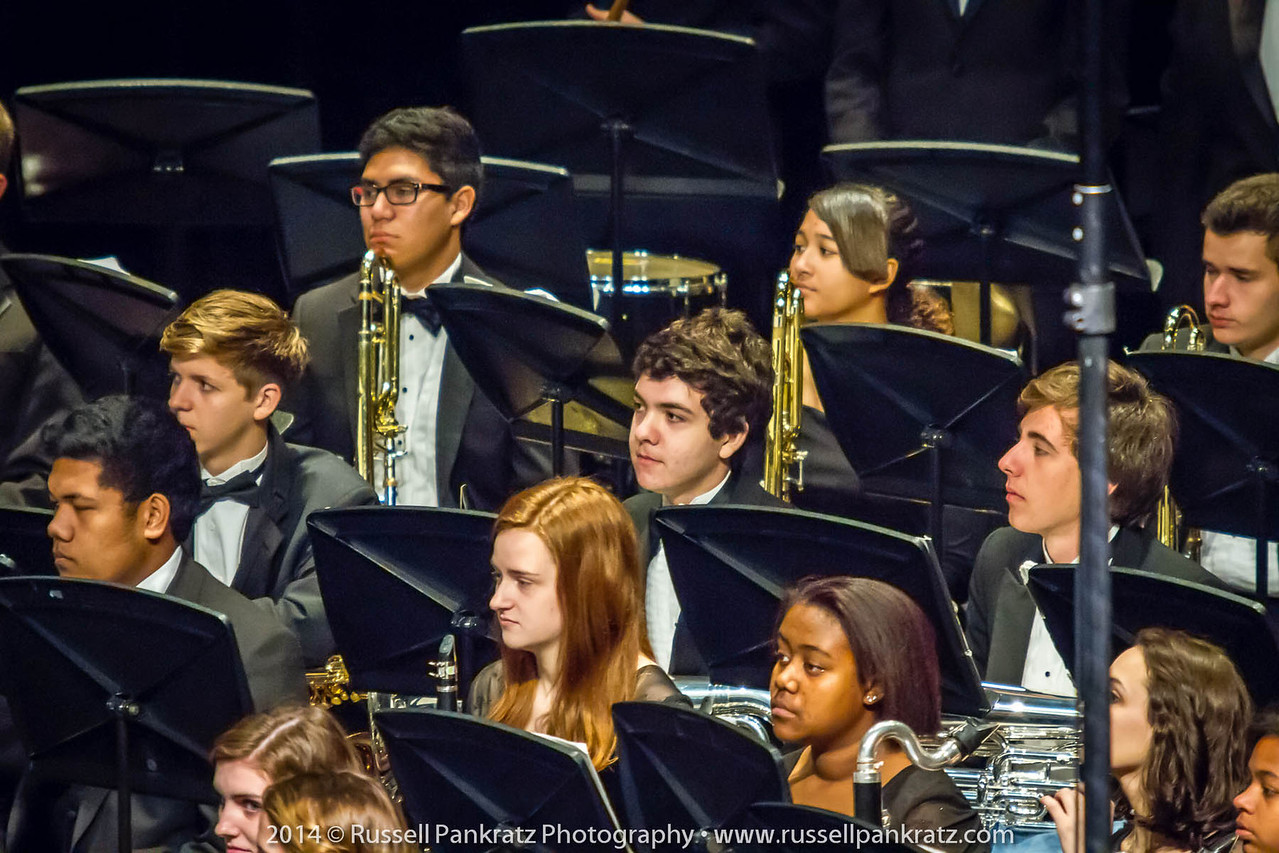 2014-04-10 UIL Concert & Site-Reading - Wind Ensemble II-6