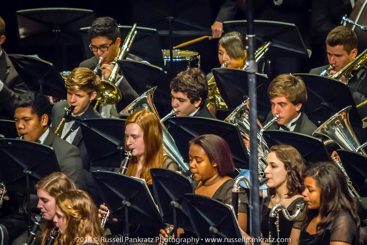 2014-04-10 UIL Concert & Site-Reading - Wind Ensemble II-27