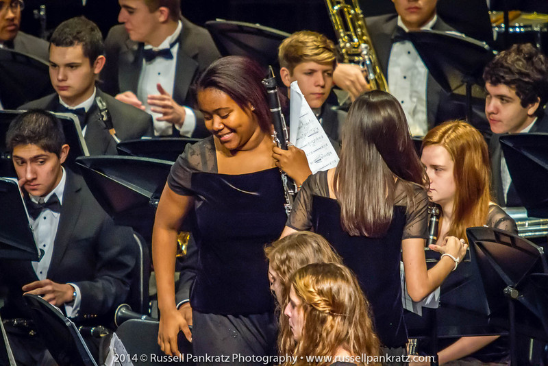 2014-04-10 UIL Concert & Site-Reading - Wind Ensemble II-42