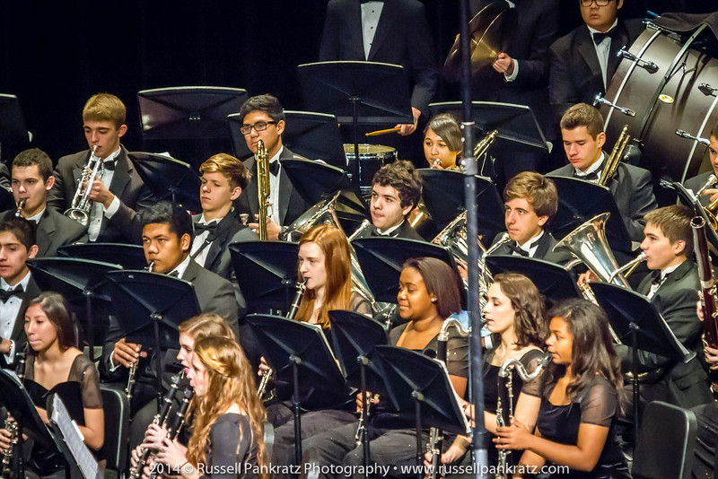 2014-04-10 UIL Concert & Site-Reading - Wind Ensemble II-9