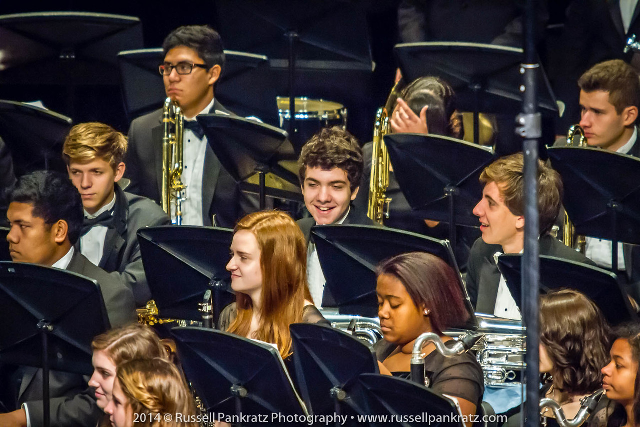 2014-04-10 UIL Concert & Site-Reading - Wind Ensemble II-5