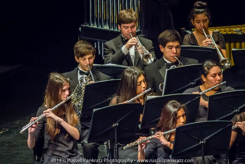 2014-04-10 UIL Concert & Site-Reading - Wind Ensemble II-38