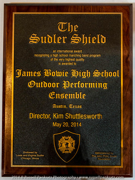 20140520 JBHSOPE-Sudler Shield Award-3