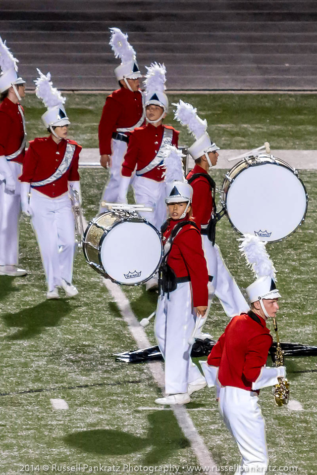 20141021 UIL Region 18 Marching Contest-27
