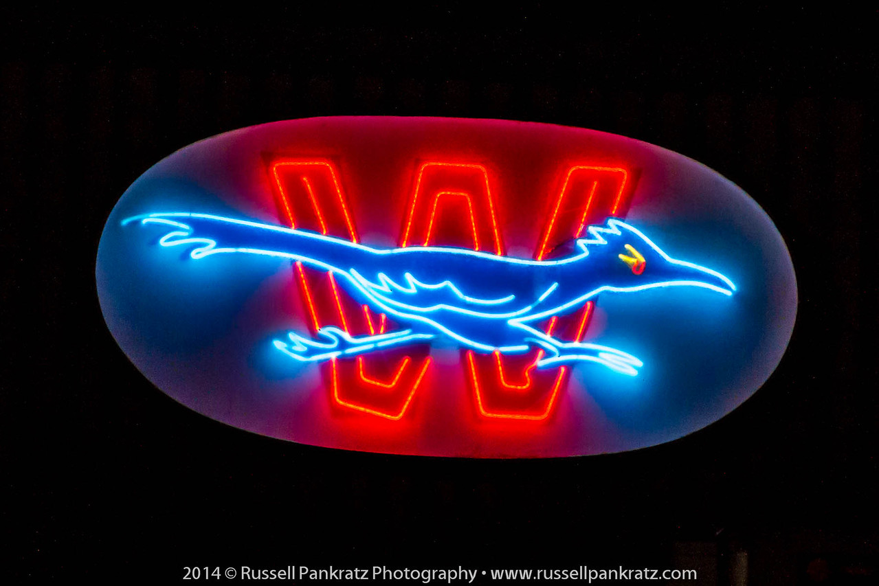 I think Bowie needs a neon art like this blazing in the darkness from high on the outside of the theatre wall.