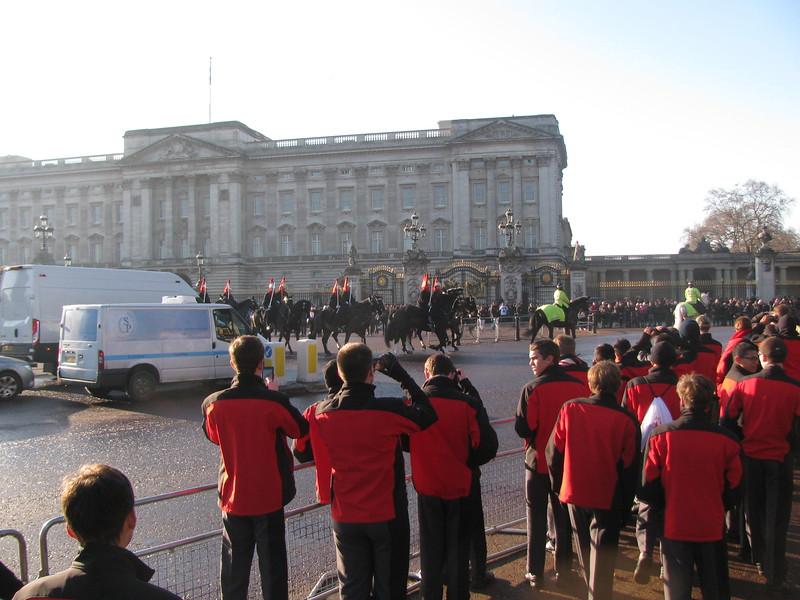 Horse Guards Buckingham Palace