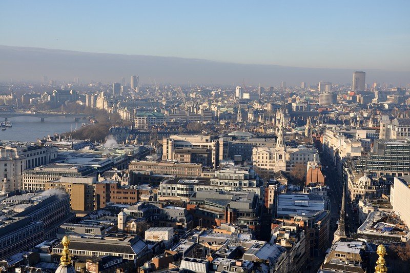 view from st pauls dome