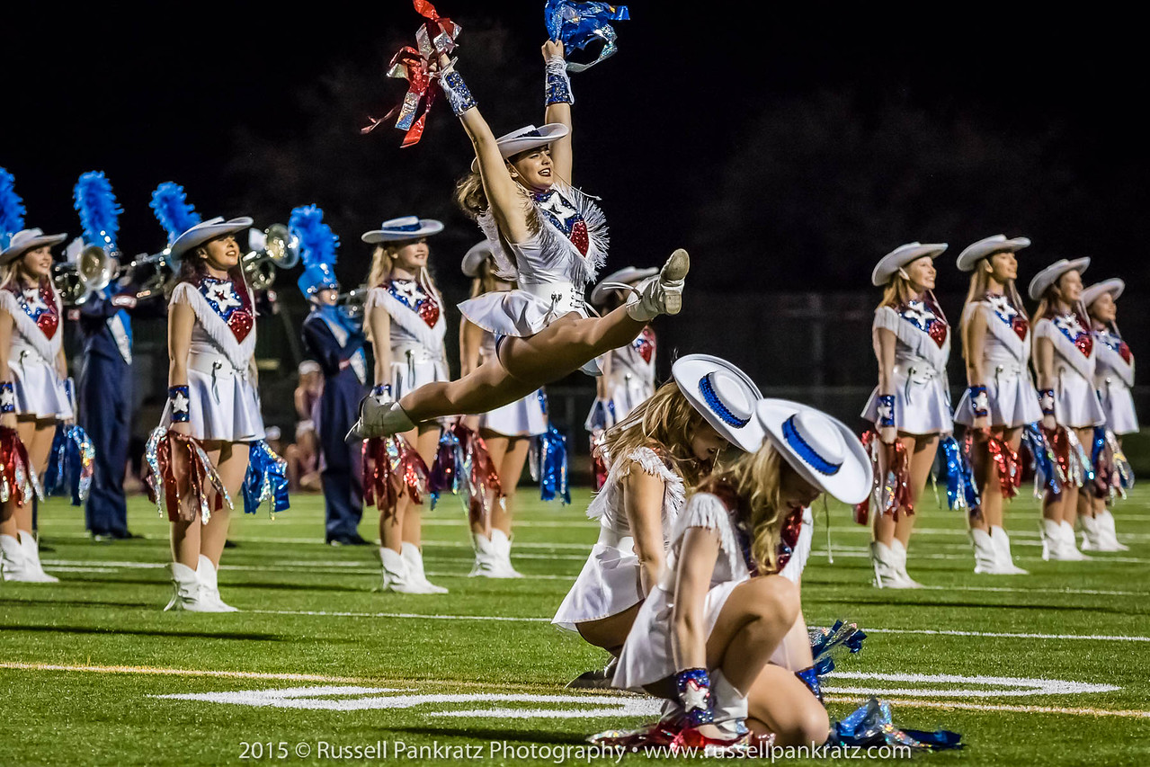 Westlake's drill team is called The Hyline.