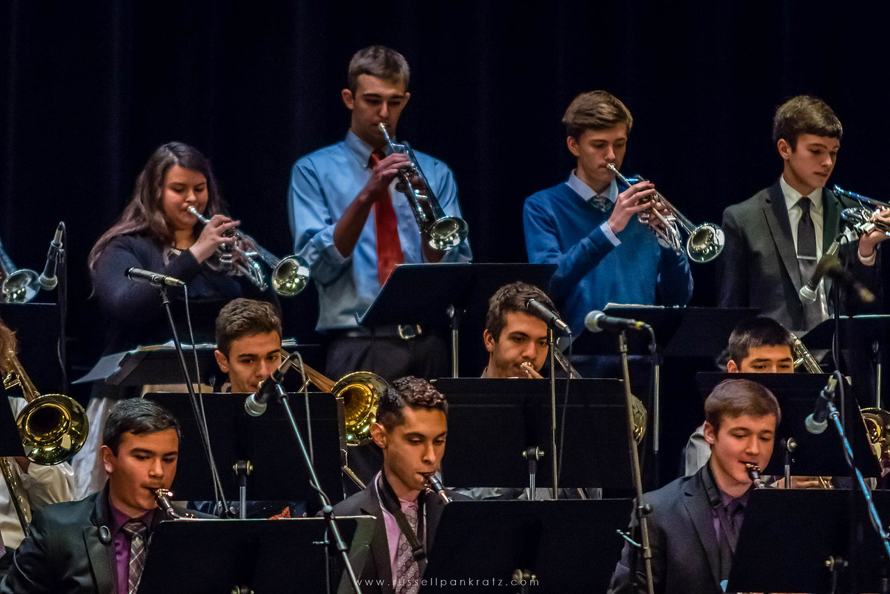 20160402 Bowie Jazz Band I - Temple College Jazz Festival-14