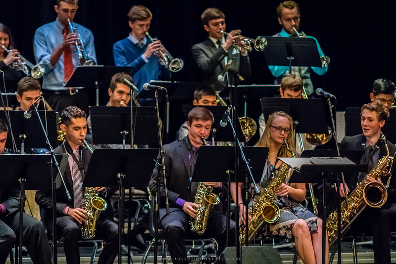 20160402 Bowie Jazz Band I - Temple College Jazz Festival-10