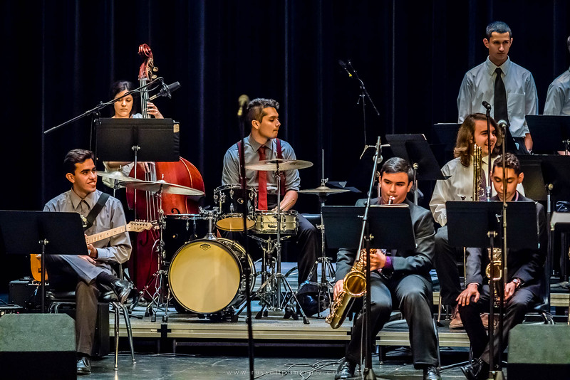 20160402 Bowie Jazz Band I - Temple College Jazz Festival-3
