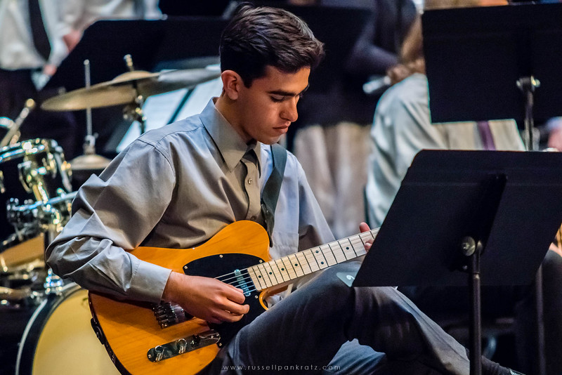 20160402 Bowie Jazz Band I - Temple College Jazz Festival-24