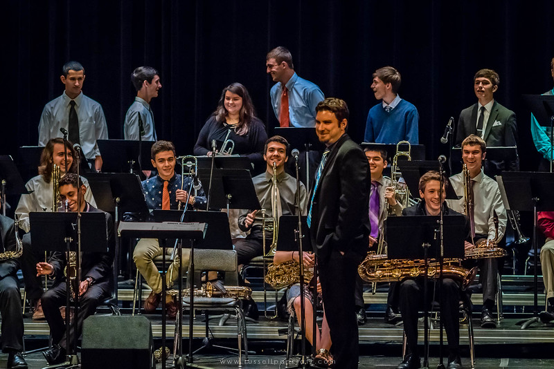 20160402 Bowie Jazz Band I - Temple College Jazz Festival-5