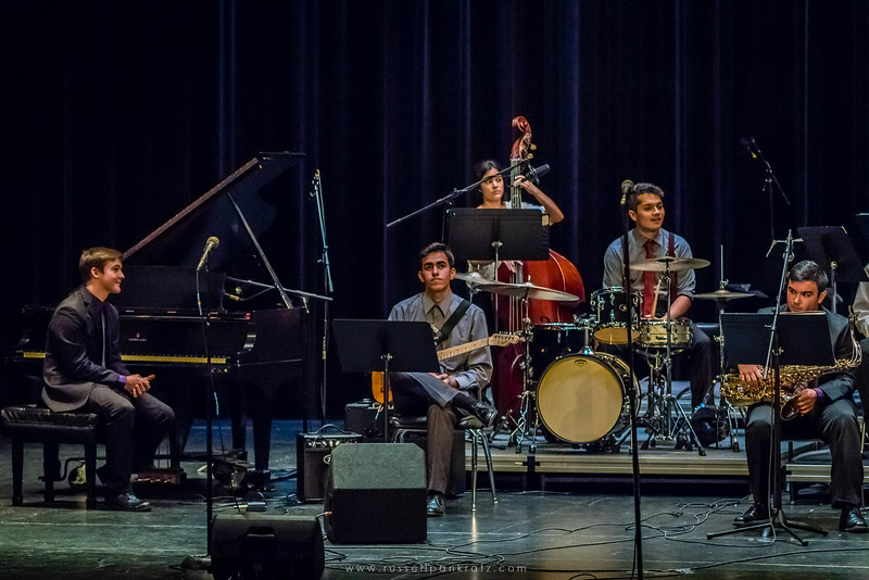 20160402 Bowie Jazz Band I - Temple College Jazz Festival-6