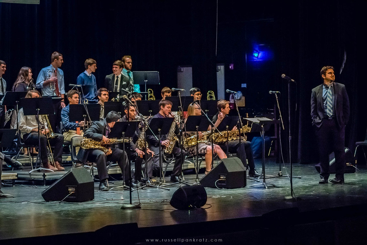 20160402 Bowie Jazz Band I - Temple College Jazz Festival-8
