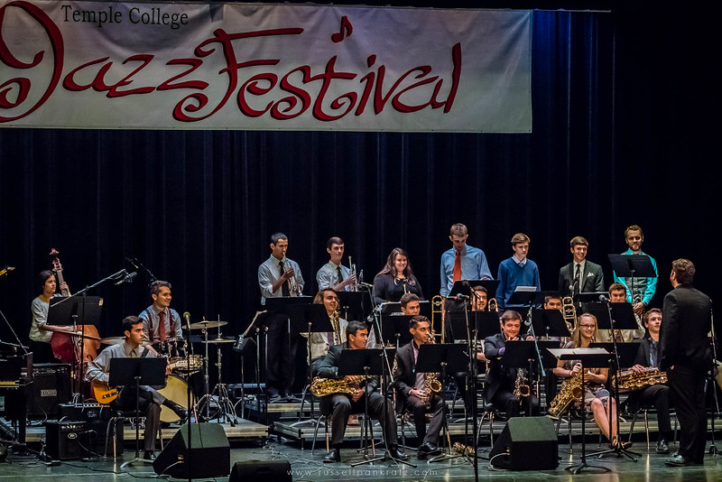20160402 Bowie Jazz Band I - Temple College Jazz Festival-9