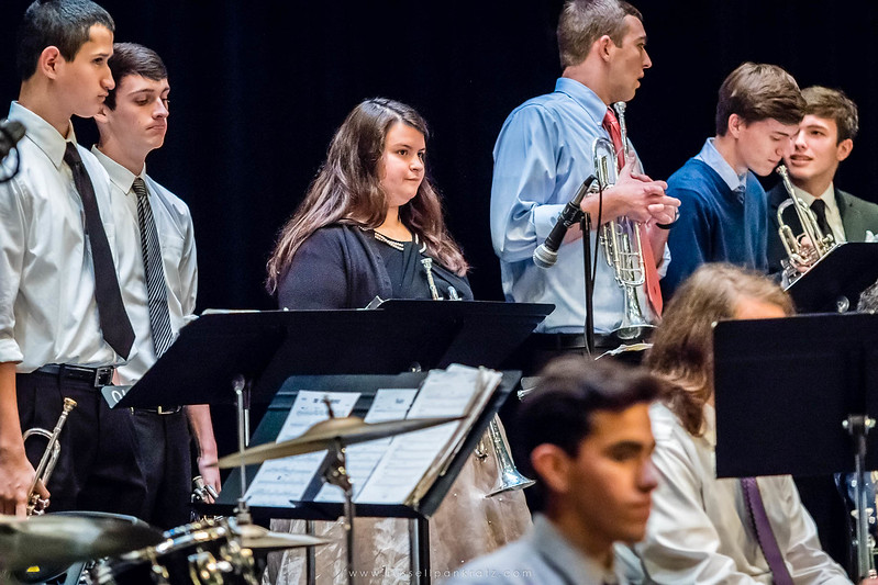 20160402 Bowie Jazz Band I - Temple College Jazz Festival-32