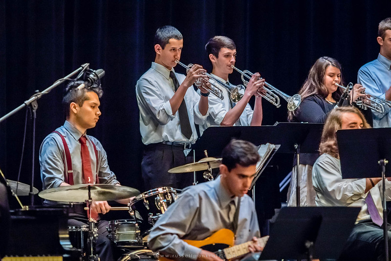 20160402 Bowie Jazz Band I - Temple College Jazz Festival-38