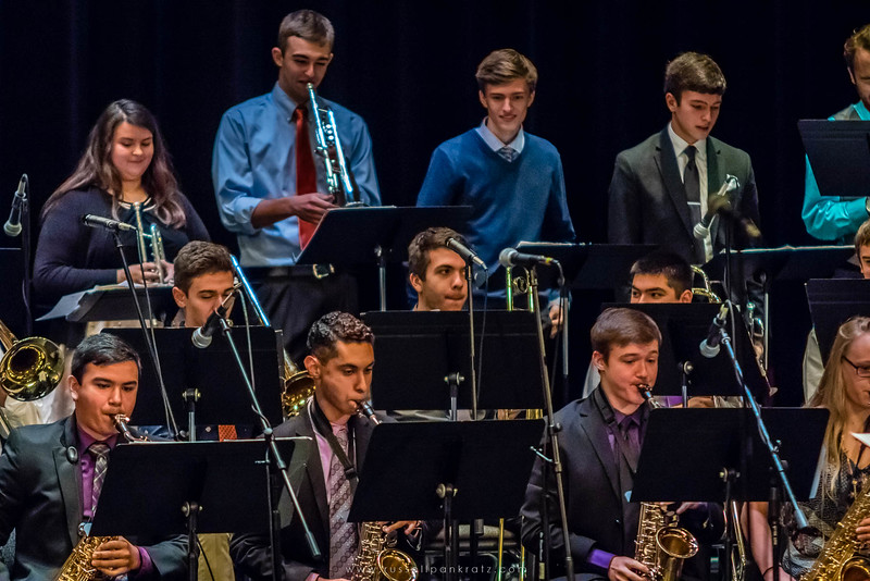 20160402 Bowie Jazz Band I - Temple College Jazz Festival-11