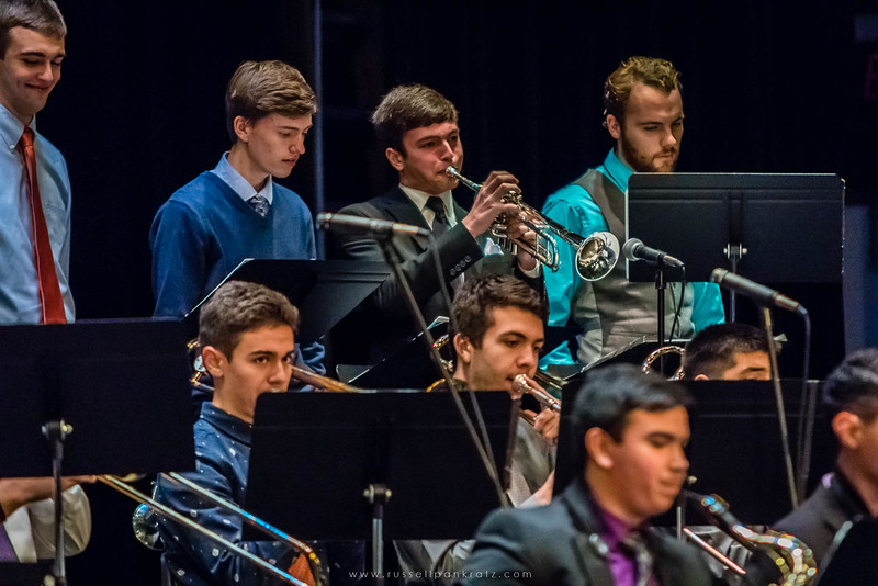 20160402 Bowie Jazz Band I - Temple College Jazz Festival-42