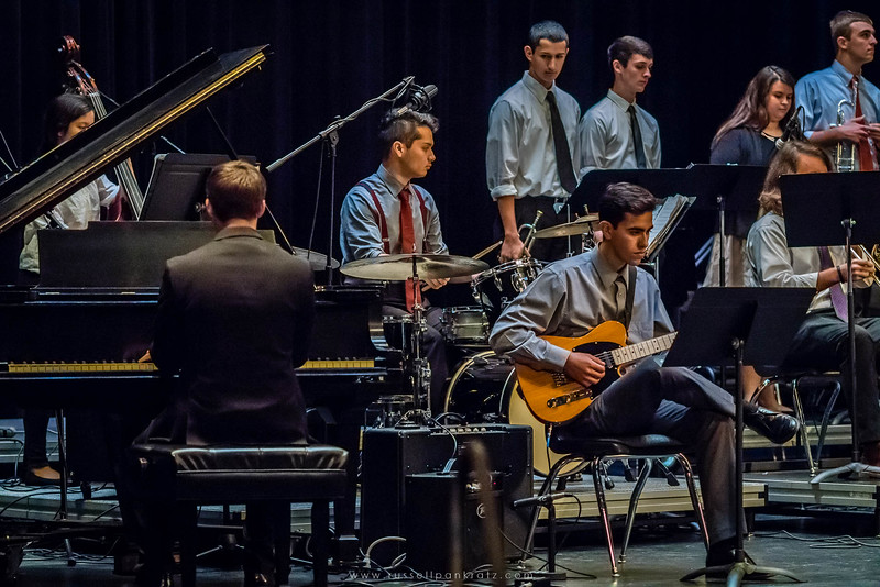20160402 Bowie Jazz Band I - Temple College Jazz Festival-35
