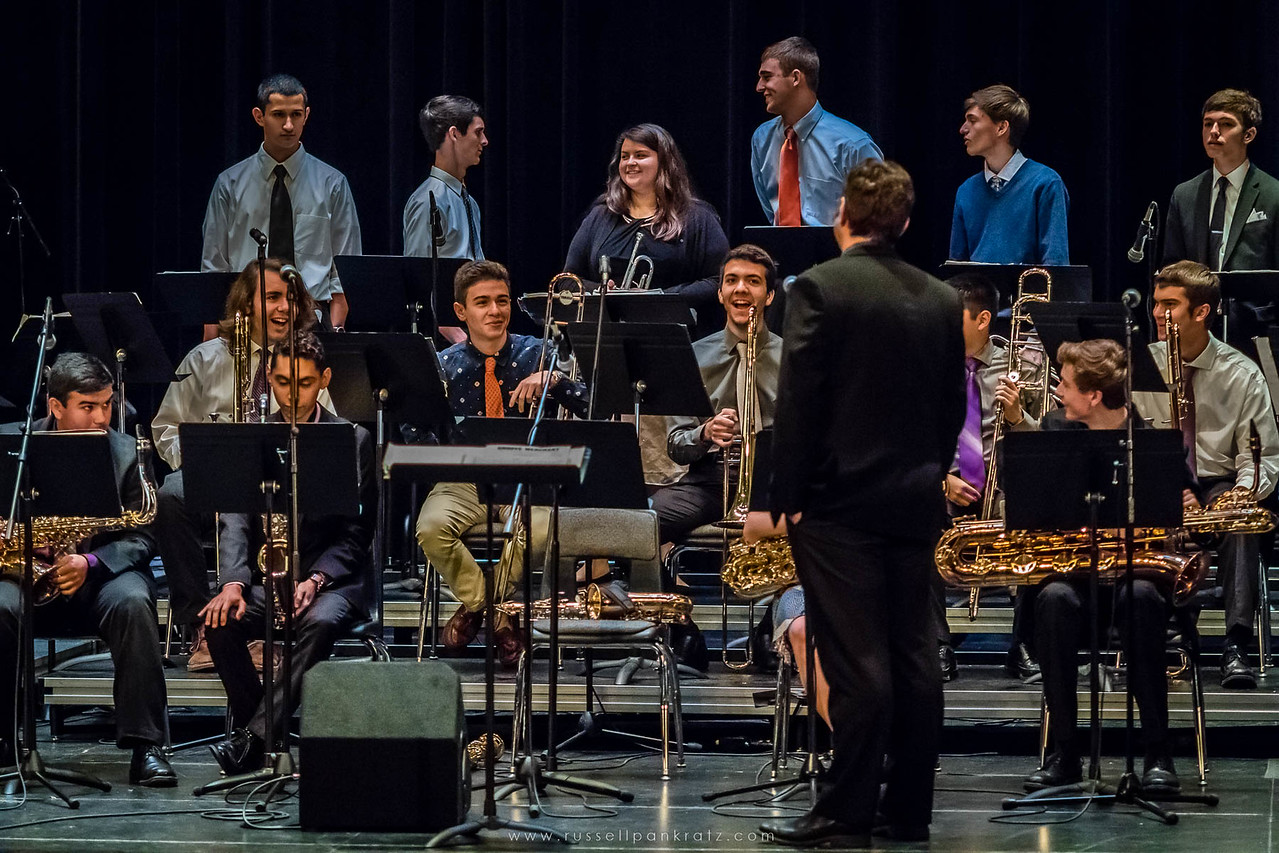 20160402 Bowie Jazz Band I - Temple College Jazz Festival-4