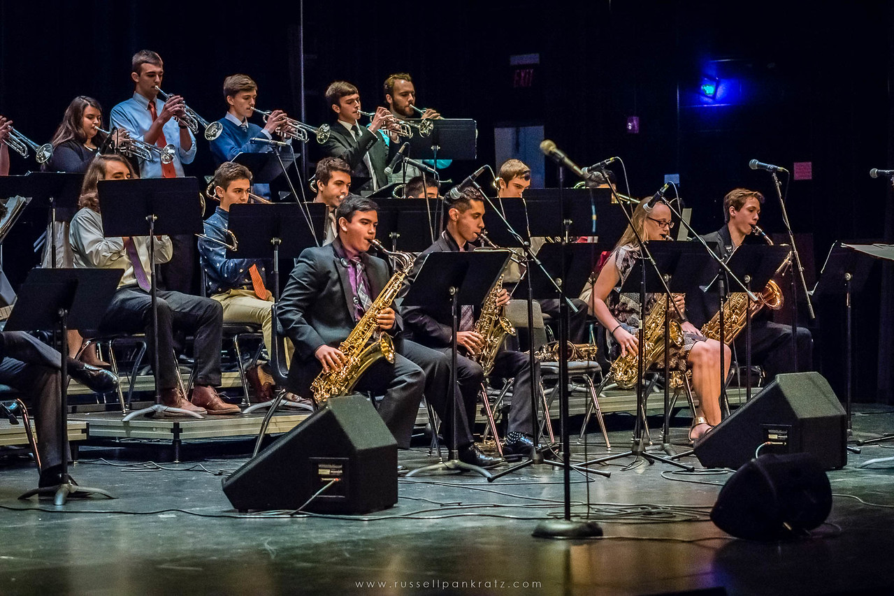 20160402 Bowie Jazz Band I - Temple College Jazz Festival-37