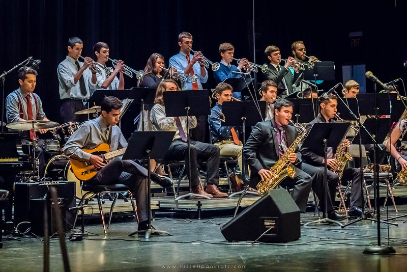 20160402 Bowie Jazz Band I - Temple College Jazz Festival-36