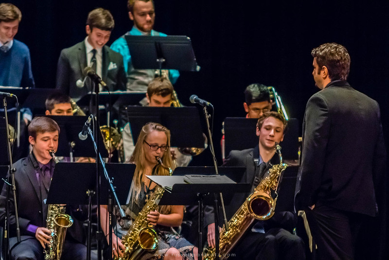 20160402 Bowie Jazz Band I - Temple College Jazz Festival-12
